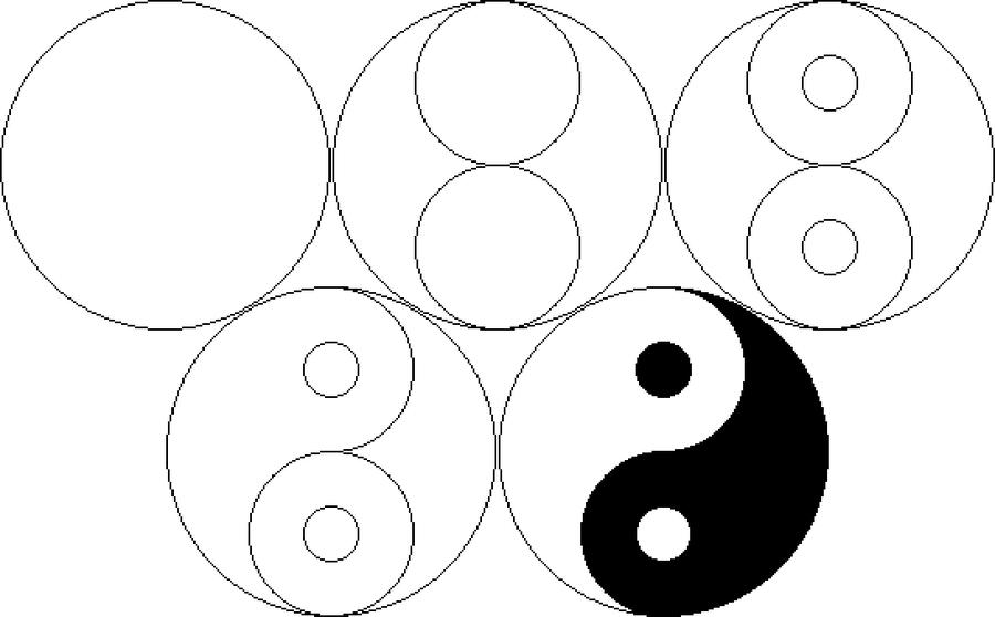 900x558 Steps To Yin Yang Art And Design Yin Yang