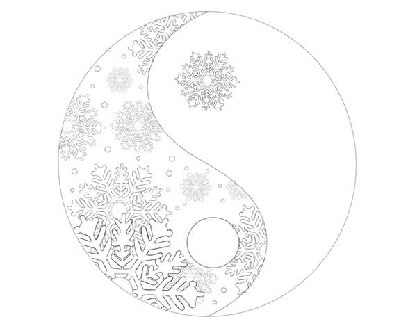 600x479 How To Create A Seasonal Yin Yang Illustration In Adobe Photoshop