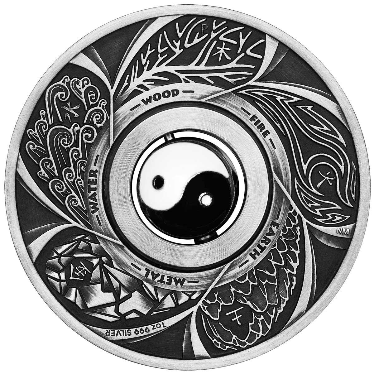 1200x1200 Rotating Yin Yang Symbols, Christmas And Dingos From The Perth
