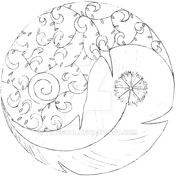 600x603 Yin Yang Air And Earth By Timesoul