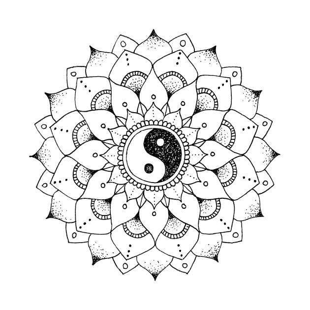 630x630 Yin Yang Mandala