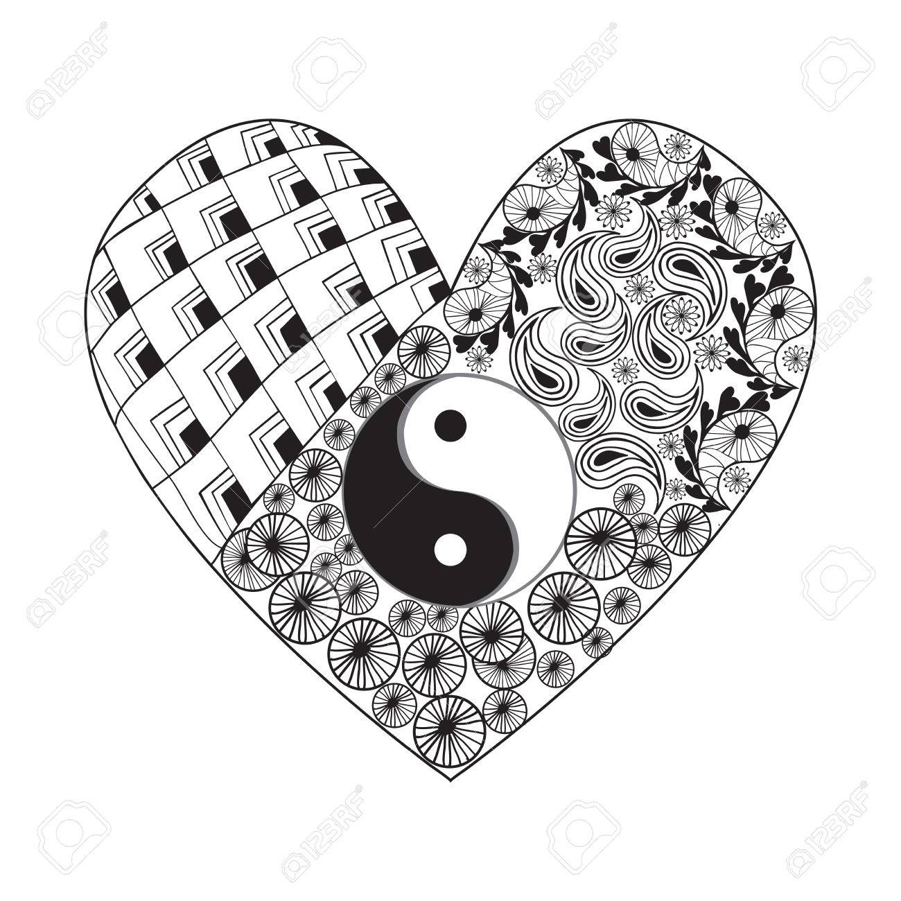 Yin Yang Drawing Designs At Getdrawings Com Free For Personal Use