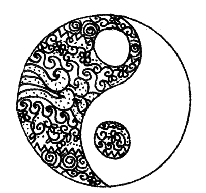 405x379 Yin Yang Sign Discovered By Tumblr Lt3 On We Heart It