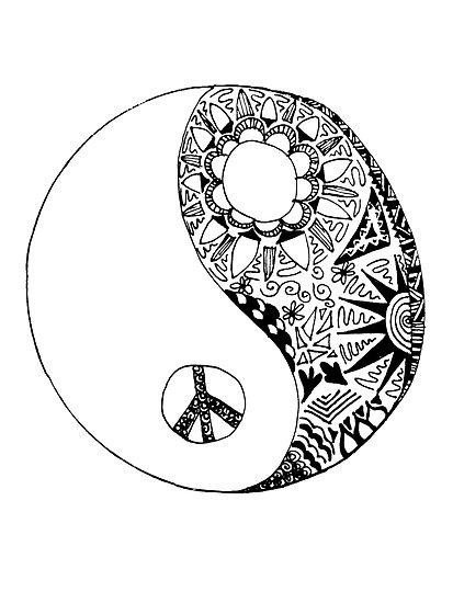 413x550 Ying Yang Tattoo