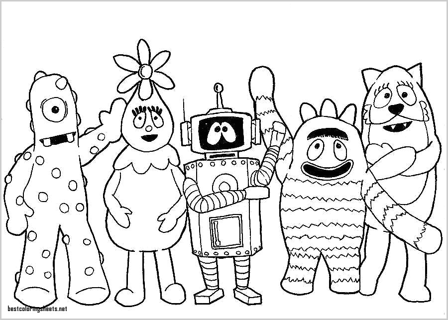 Yo gabba gabba drawing at getdrawings free for personal use yo 900x643 best of coloring pages yo gabba gabba best coloring pages thecheapjerseys Gallery