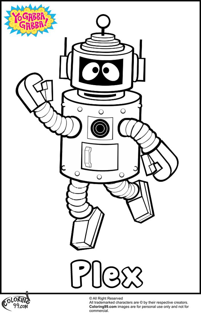 Yo Gabba Gabba Drawing at GetDrawingscom Free for personal use Yo