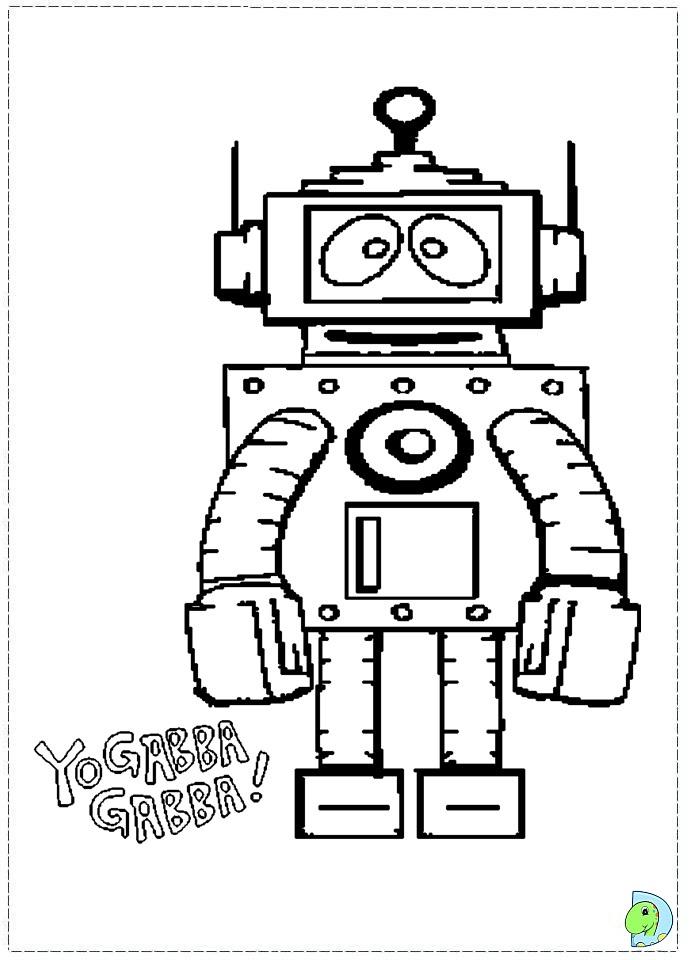 Yo Gabba Gabba Drawing at GetDrawings.com | Free for ...