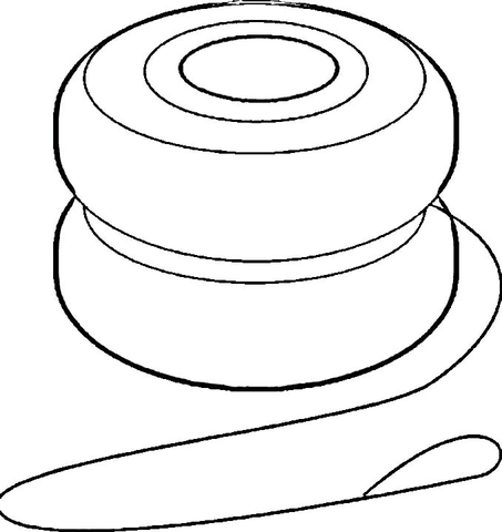 453x480 Yoyo Coloring Page Free Printable Coloring Pages