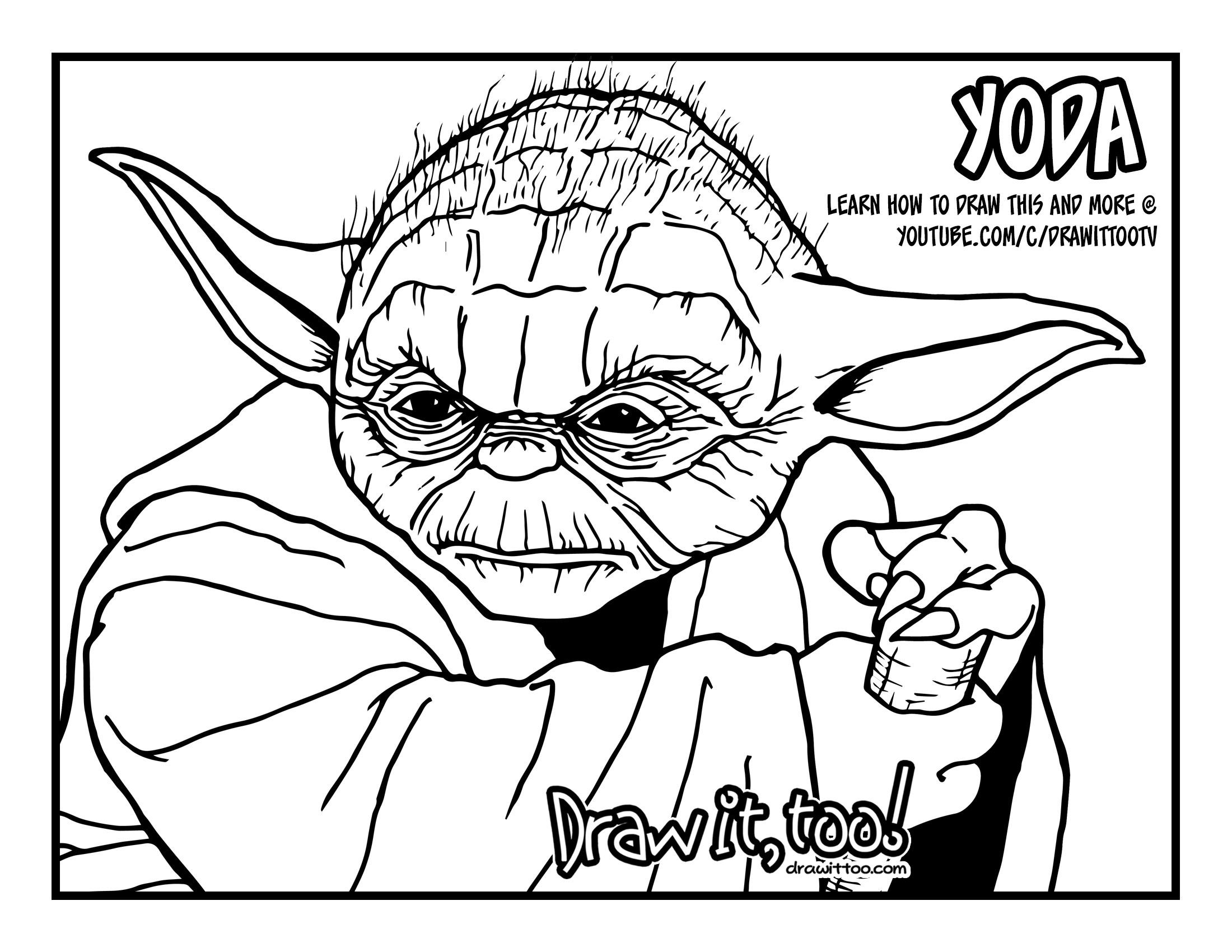 Yoda Drawing at GetDrawings | Free download