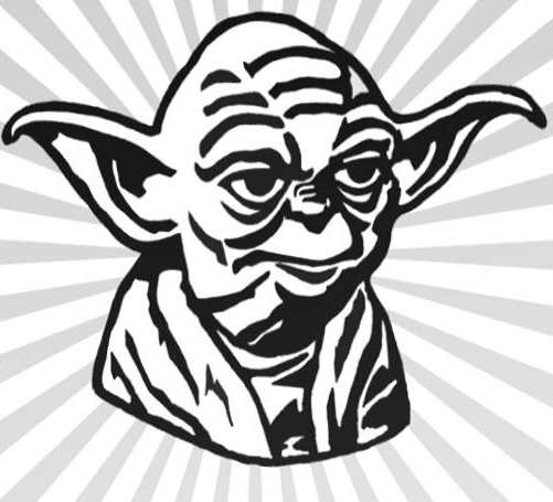 Yoda Line Drawing at GetDrawings | Free download