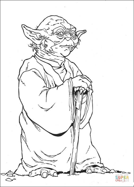 Yoda Line Drawing at GetDrawings