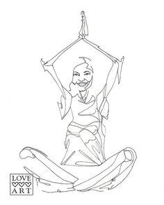 236x295 Yoga Line Drawing Of Eagle Pose Eagle Pose, Yoga And Pose