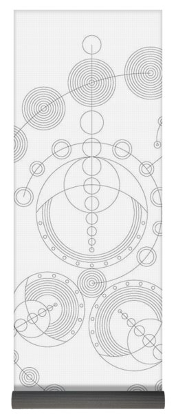 256x600 Frank Lloyd Wright Yoga Mats Pixels