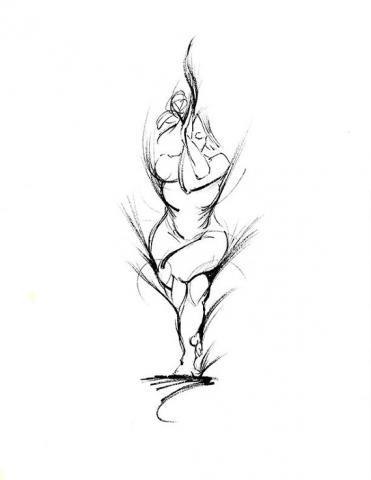 371x480 Pose Of The Month Eagle Pose (Garudasana) Full Circle Yoga