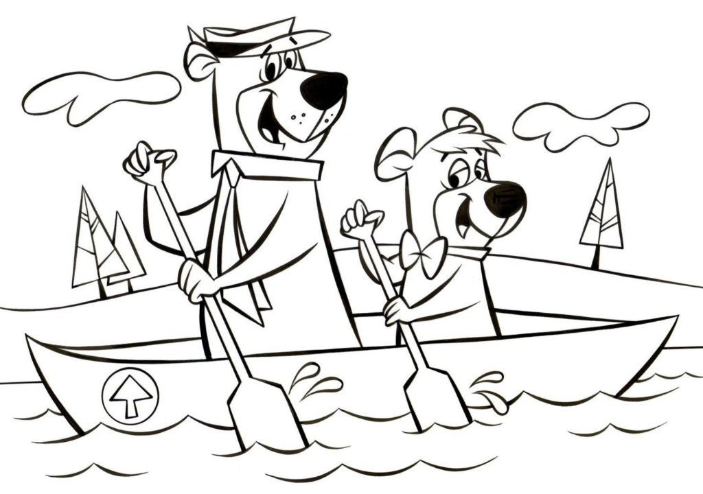 Yogi Bear Drawing at GetDrawings com | Free for personal use
