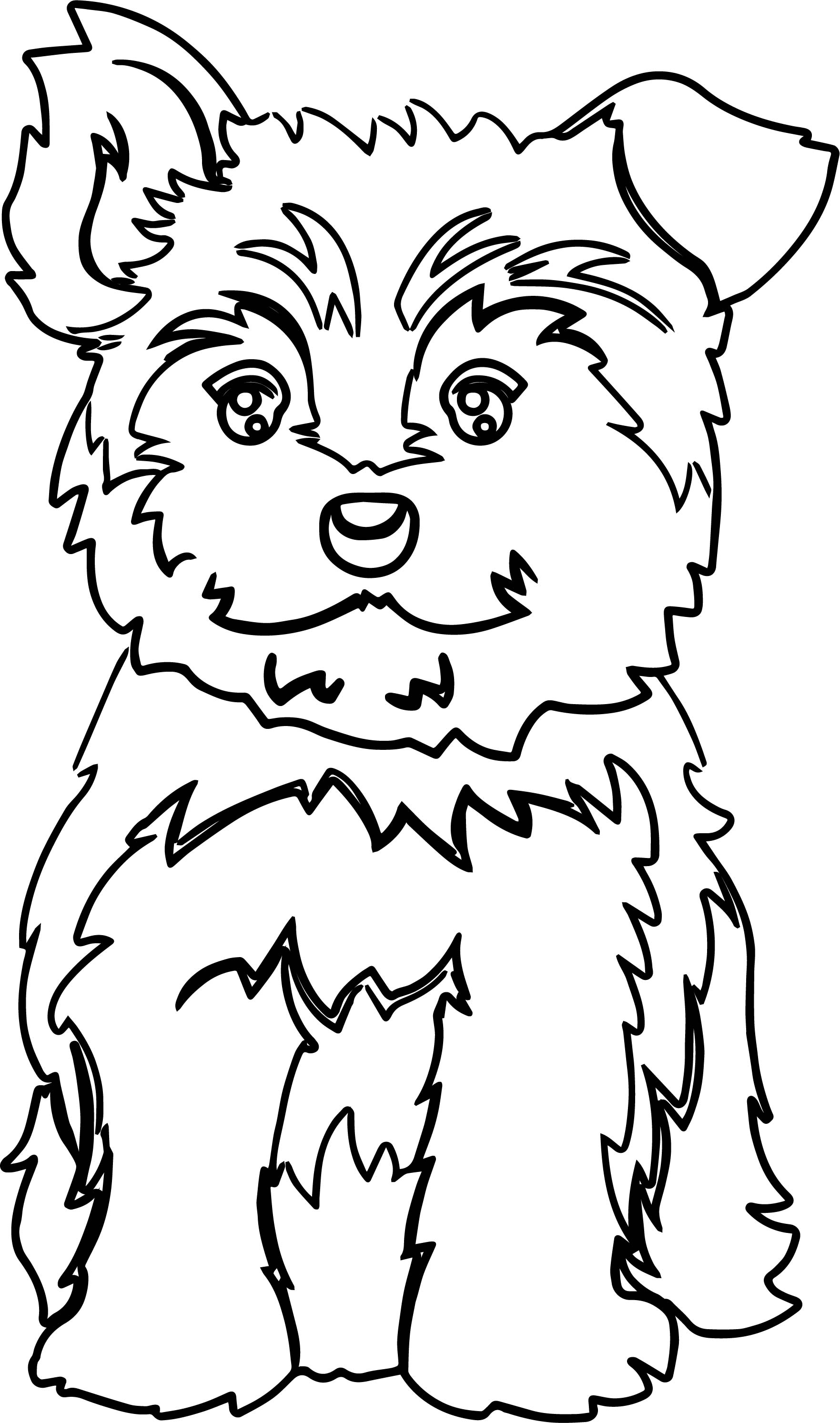 1763x2987 Yorkie Puppy Color Dog Puppy Coloring Page Wecoloringpage
