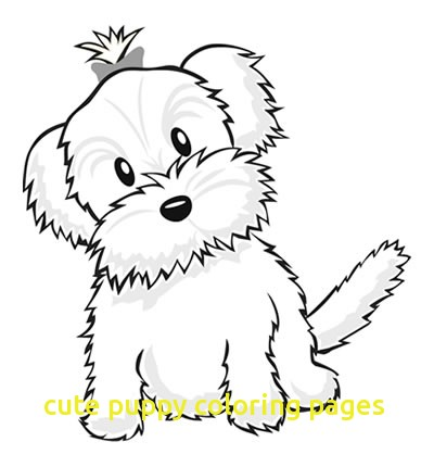 400x430 Cute Puppy Coloring Pages With Yorkie Coloring Pages Color A Puppy