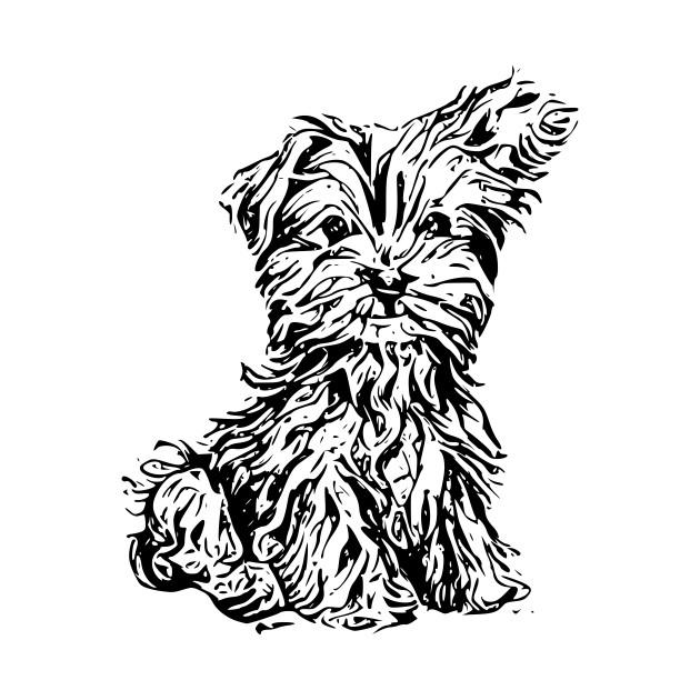 630x630 Cute Dog Drawing