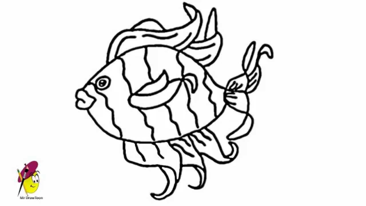 1280x720 Tropical Fish Drawings Tropical Fish