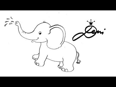480x360 The Best Zoo Drawing Ideas On Easy Elephant