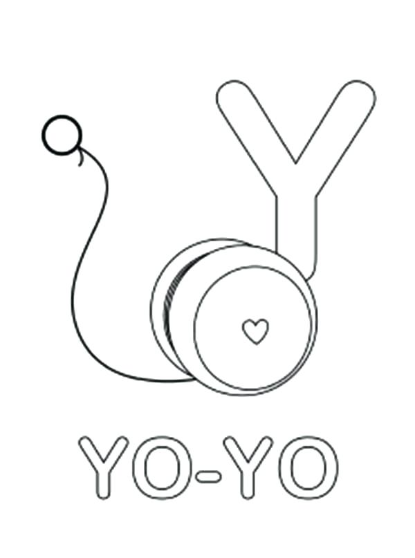 600x807 y lower lowercase letter coloring page alphabet pages 3 free - Coloring Page Yoyo