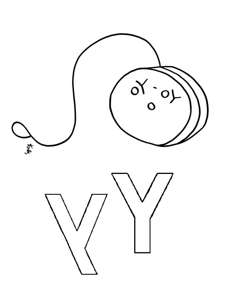954x1231 coloring pages of yoyo - Coloring Page Yoyo