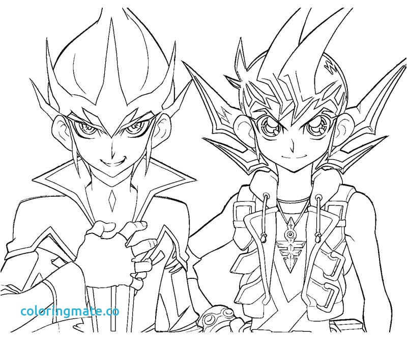 800x667 Yu Gi Oh Zexal Coloring Pages Printable In Humorous Page Drawing