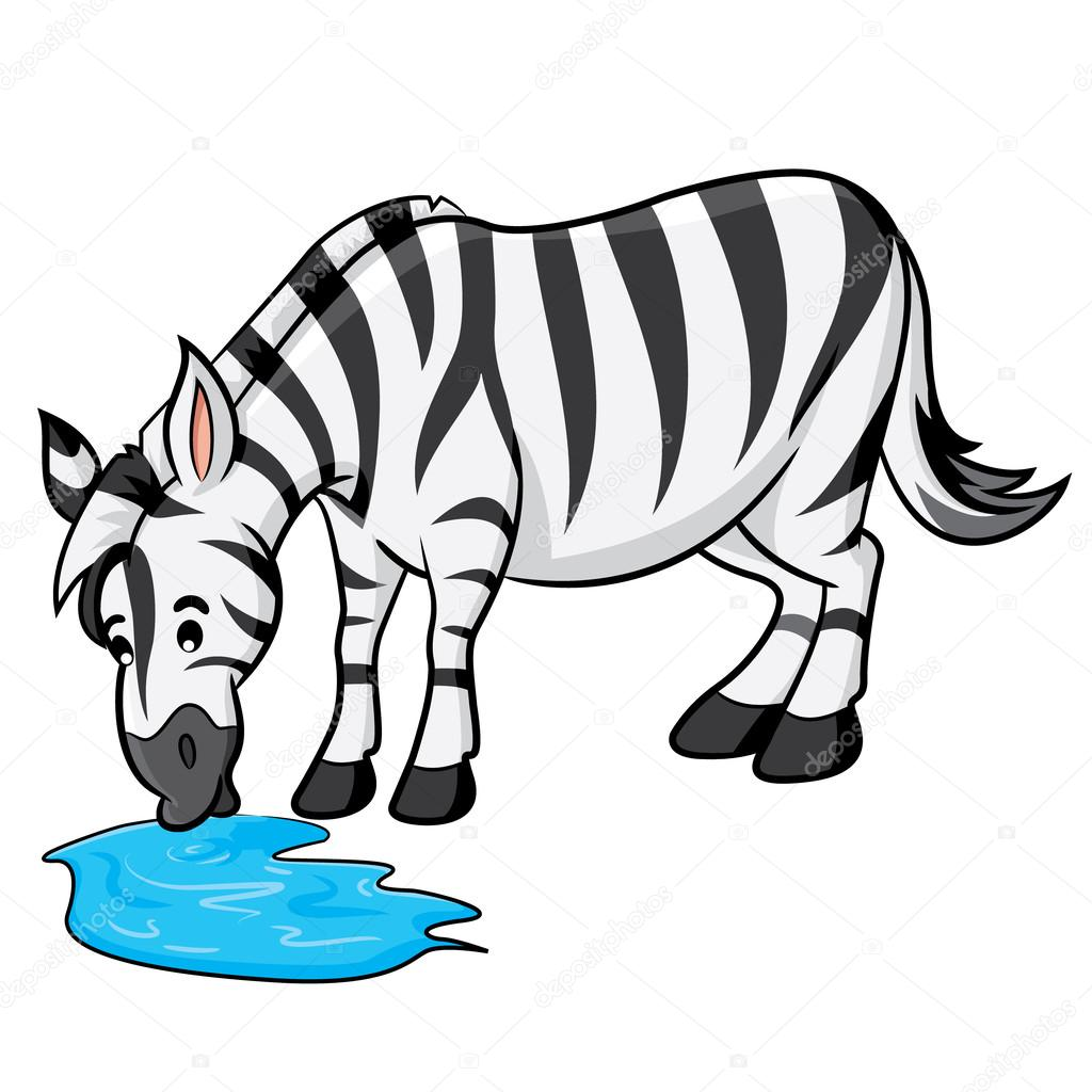 1024x1024 Zebra Cartoon Stock Vector Rubynurbaidi