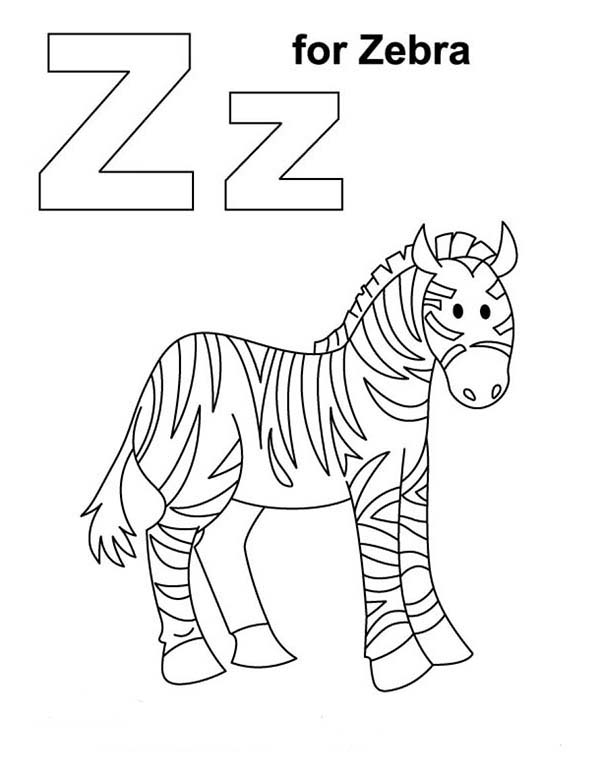 600x776 Zebra 685x886 Coloring Pages