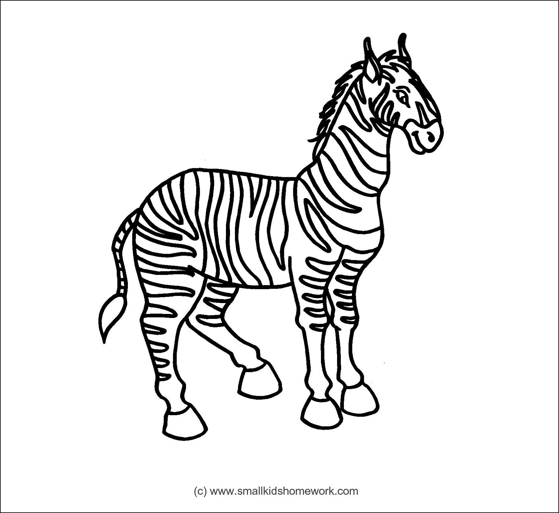1801x1652 Horse Running Animals Coloring Pages For Kids Best Of Zebra