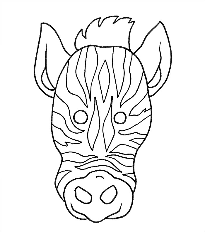 Zebra Drawing Step By Step At Getdrawings Com Free For Personal
