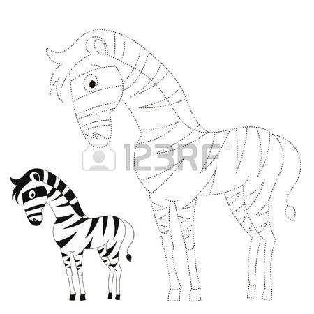 450x450 Drawn Zebra Kid