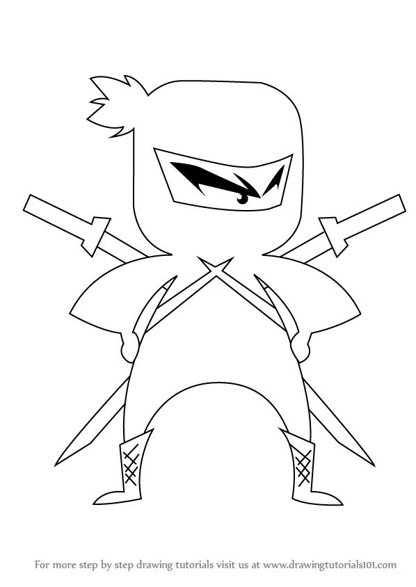 598x844 For Tags Ninja Drawing For Kids Zebra Makeup For Kids Easy