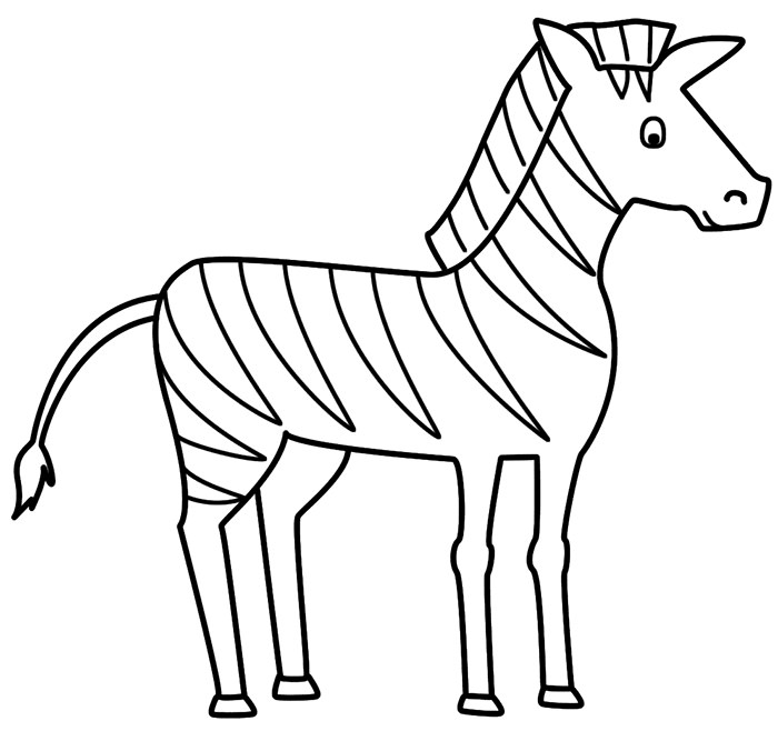700x658 Zebra Templates