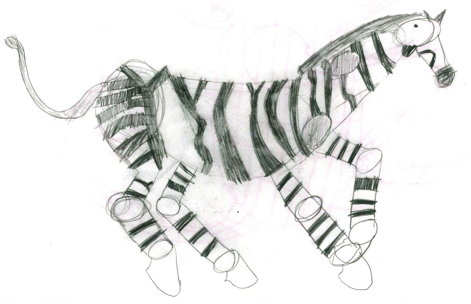 1600x1035 Art By Jeane Nevarez Zebra Lesson