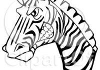 200x140 Inspirational Zebra Head Cartoon How To Draw A Cartoon Zebra Step
