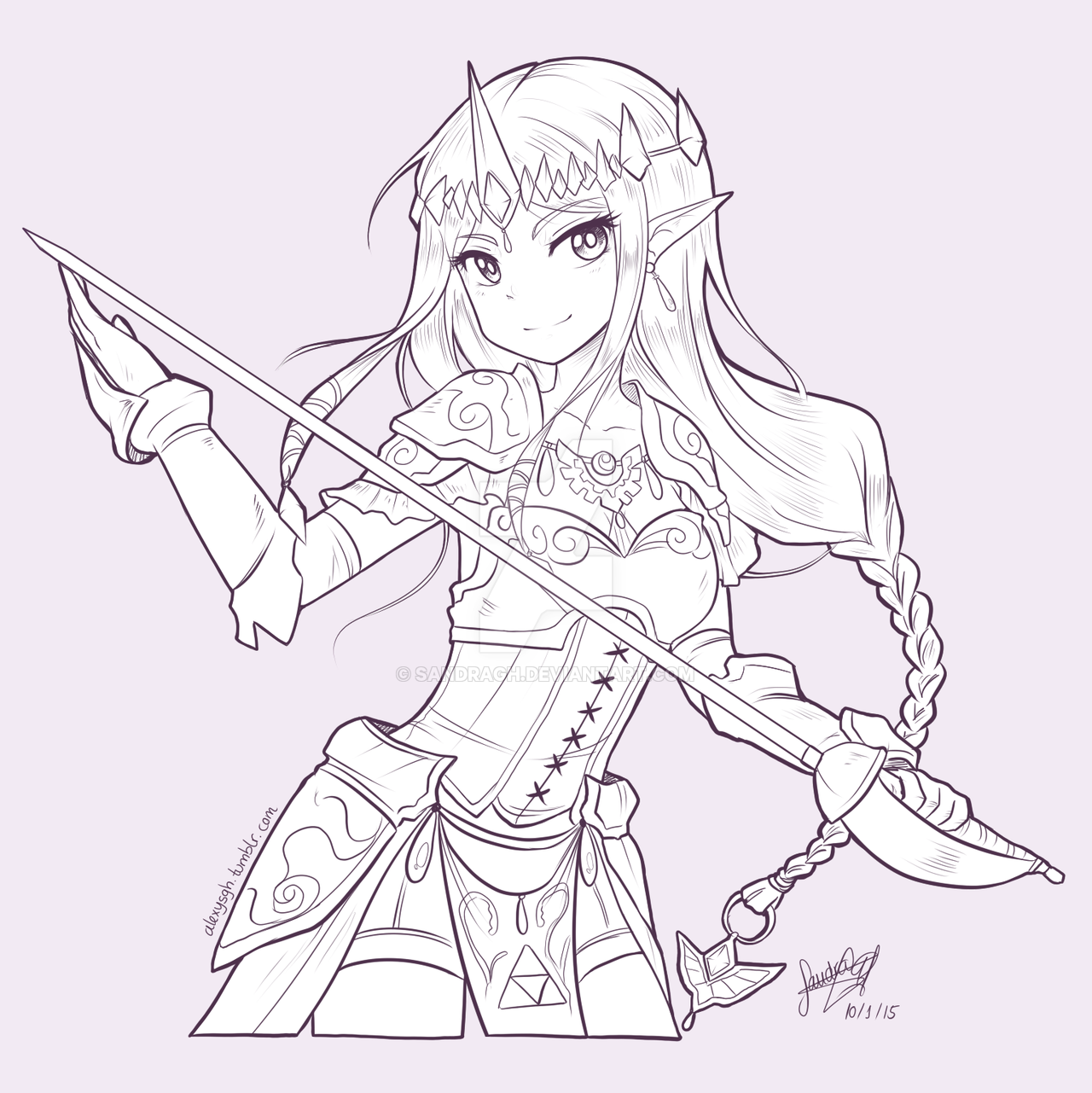 Zelda Drawing At Getdrawings Com Free For Personal Use Zelda