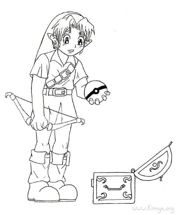 Zelda Link Drawing at GetDrawings.com | Free for personal use Zelda ...