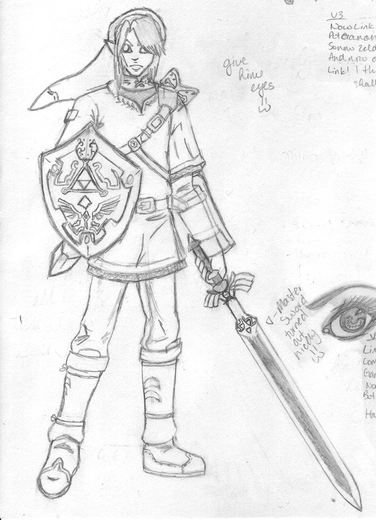 Dorable Princesa Zelda Para Colorear Cresta - Dibujos de Animales ...