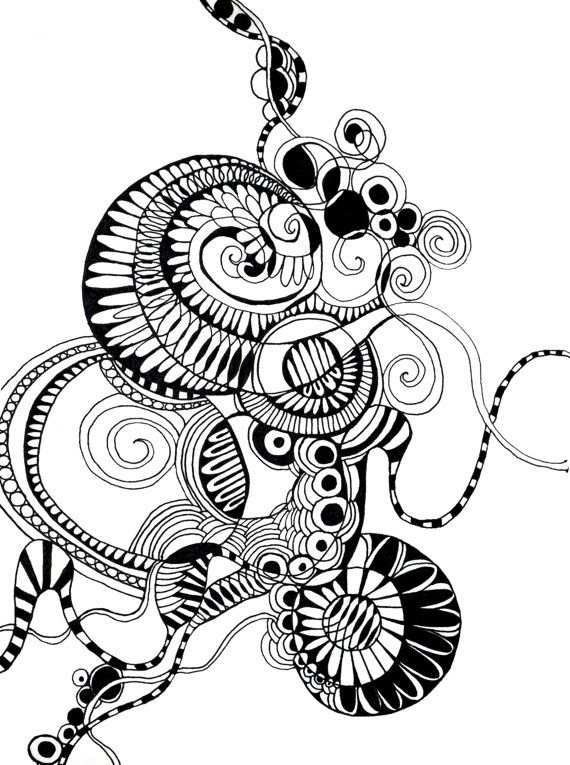 Line Art Zendoodle : Zendoodle drawing at getdrawings free for personal