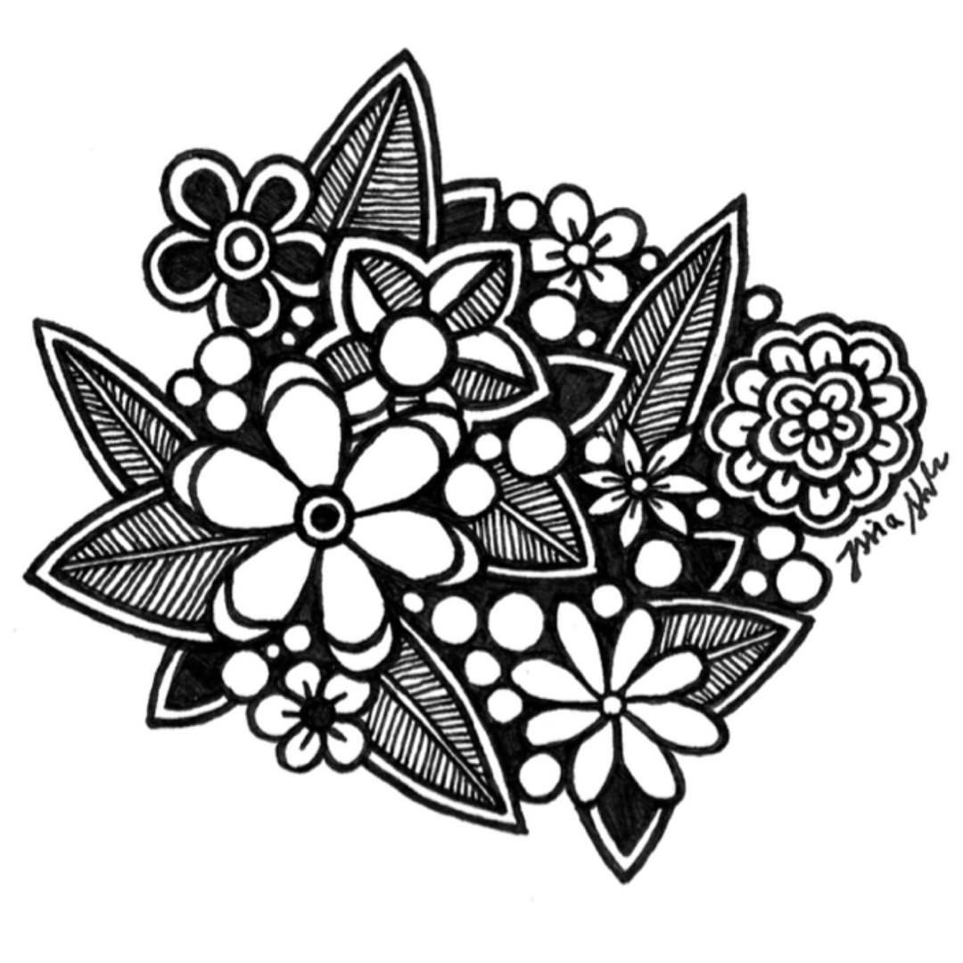 Zentangle Drawing at GetDrawings com | Free for personal use