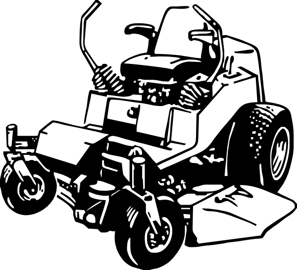 Zero Turn Mower Drawing