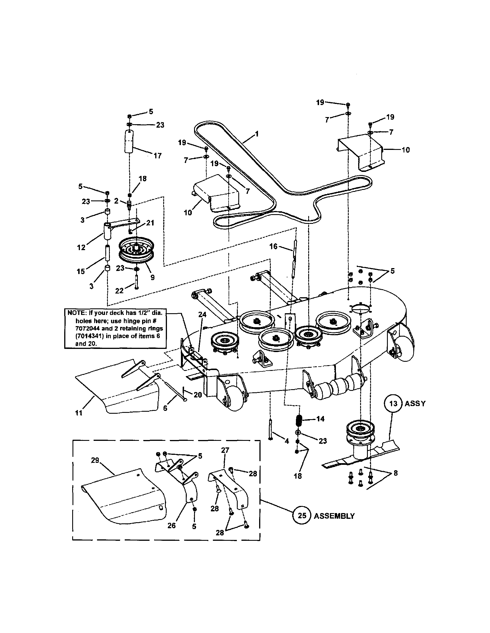 Zero Turn Mower Drawing At Free For Personal Use Sears 26 Horse Kohler Engine Electrical Diagram 1717x2217 Snapper Parts Model Czt19480kwv Partsdirect