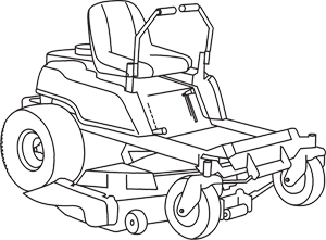 Zero Turn Mower Drawing on wiring diagram or schematic