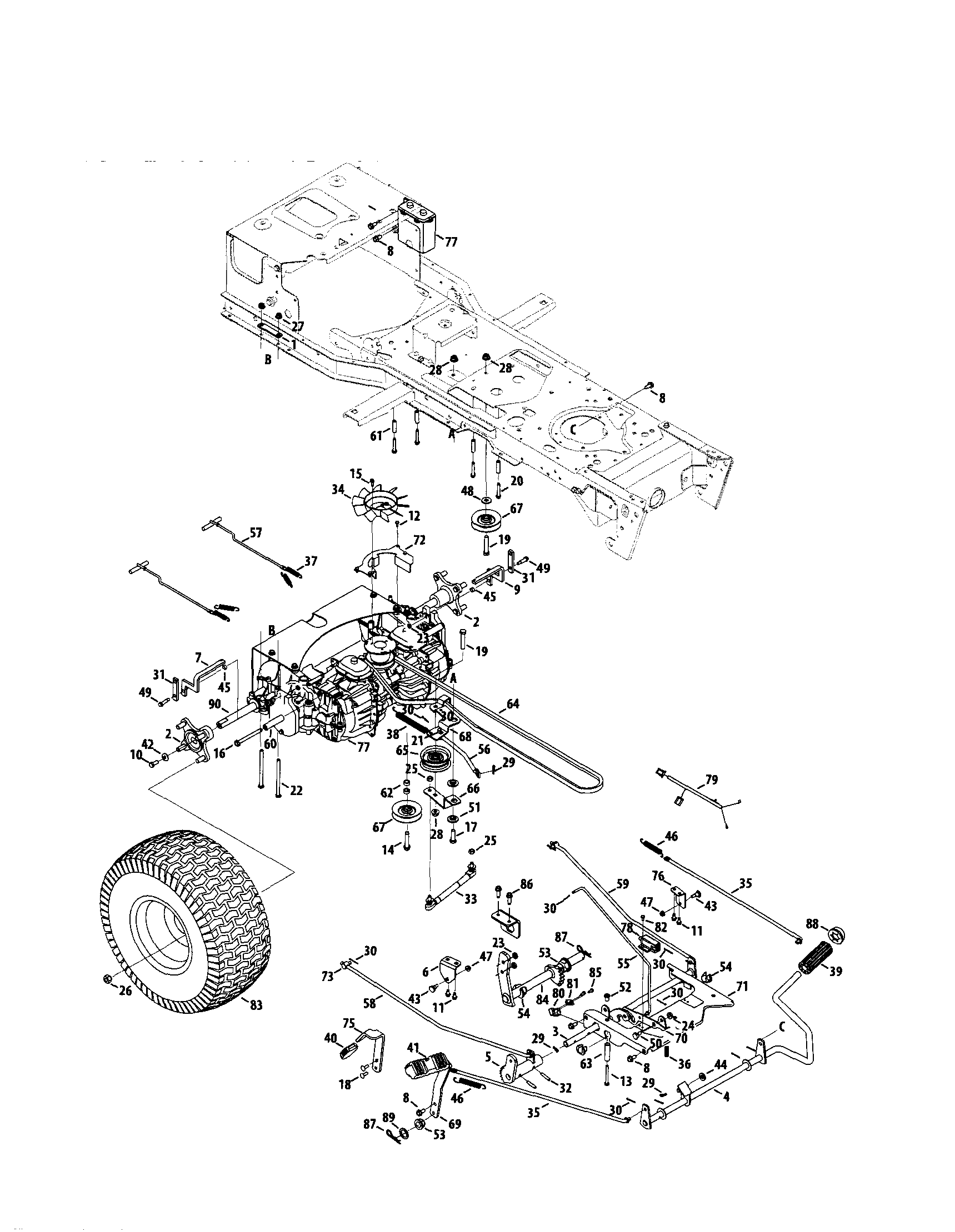 Zero Turn Mower Drawing At Free For Personal Use Wiring Diagram Husqvarna Rz 5426 1719x2219 Parts Templates Repair Manual Bobcat Toro