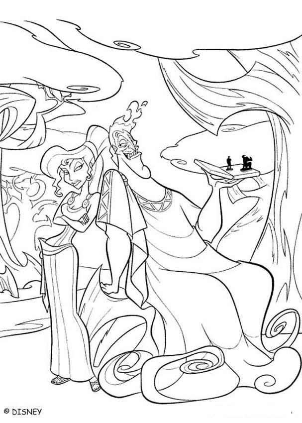 607x850 Coloring Pages Zeus