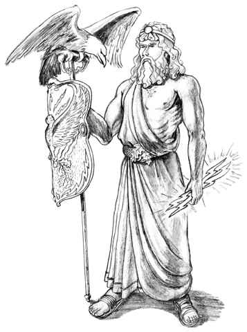 357x480 Zeus Is One Of Poseidon's Two Brothers. Zeus Is The Leader Of All