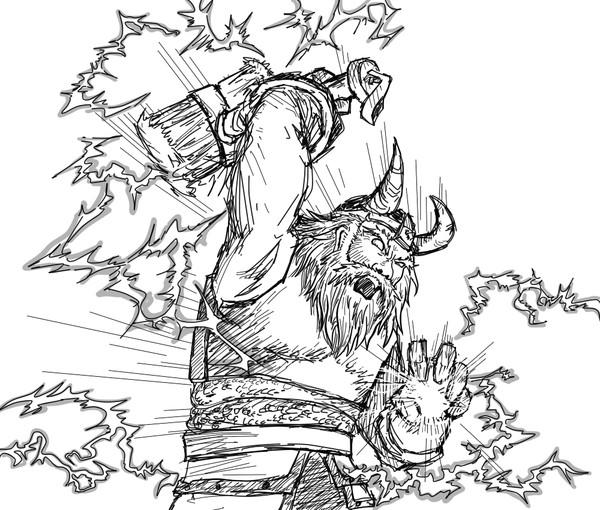 Zeus Drawing