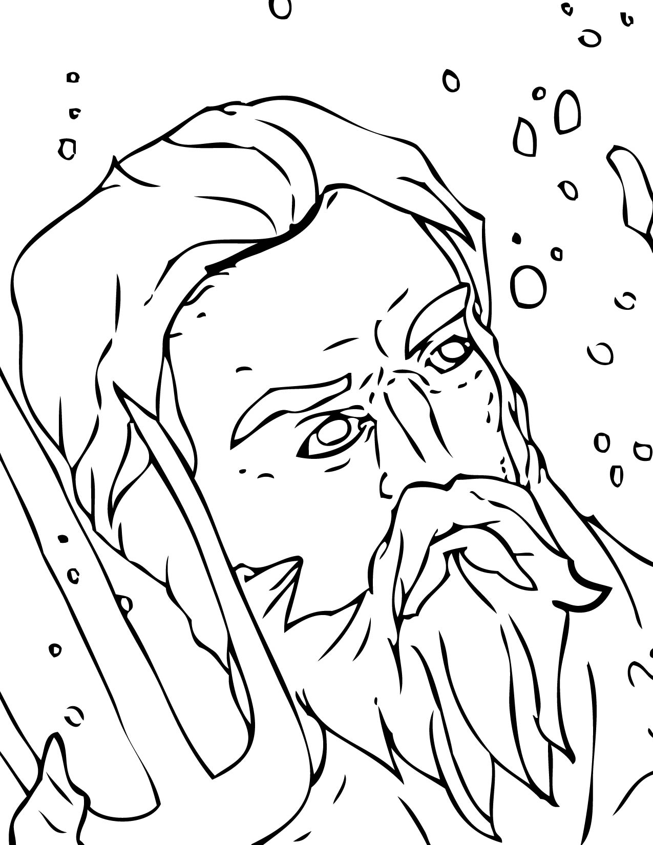 Zeus Greek God Drawing
