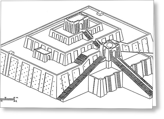 ziggurat drawing at getdrawingscom free for personal
